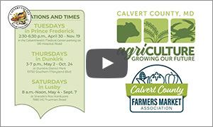 Farmers Market Video Features Thumbnail